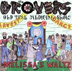 Melissa's Waltz CD Front Cover